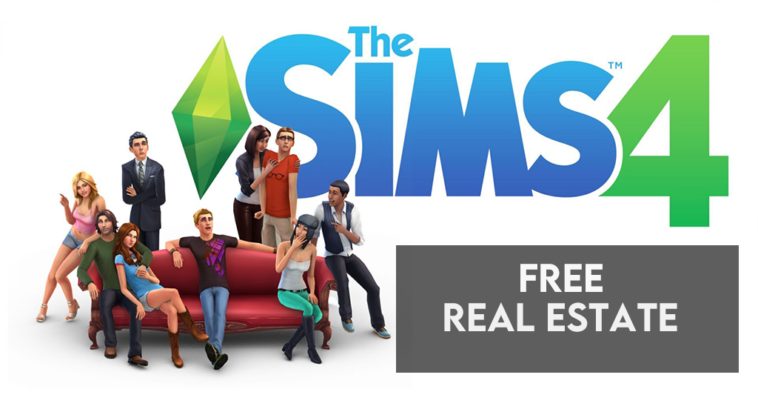 sims 4 free real estate
