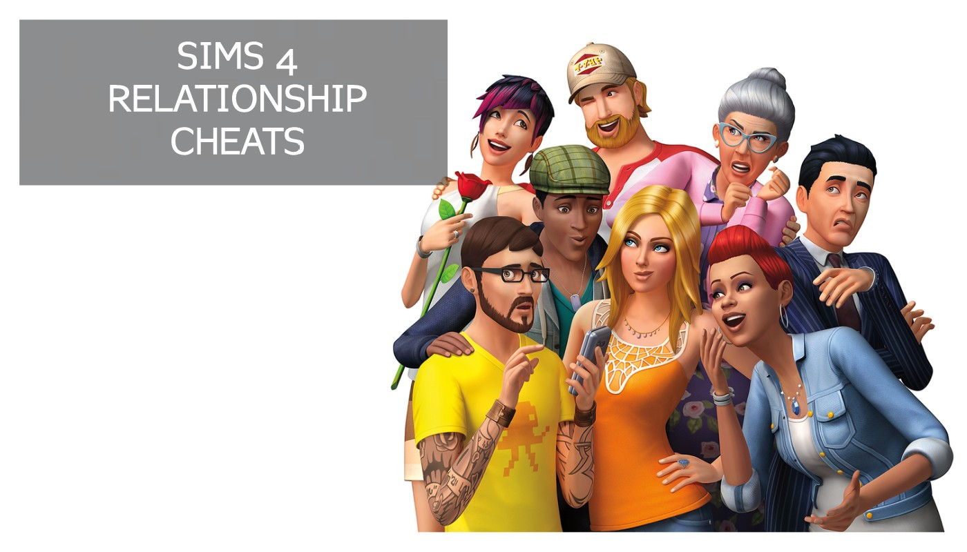 Sims 4 Relationship Cheats 【Kissing & Romance】