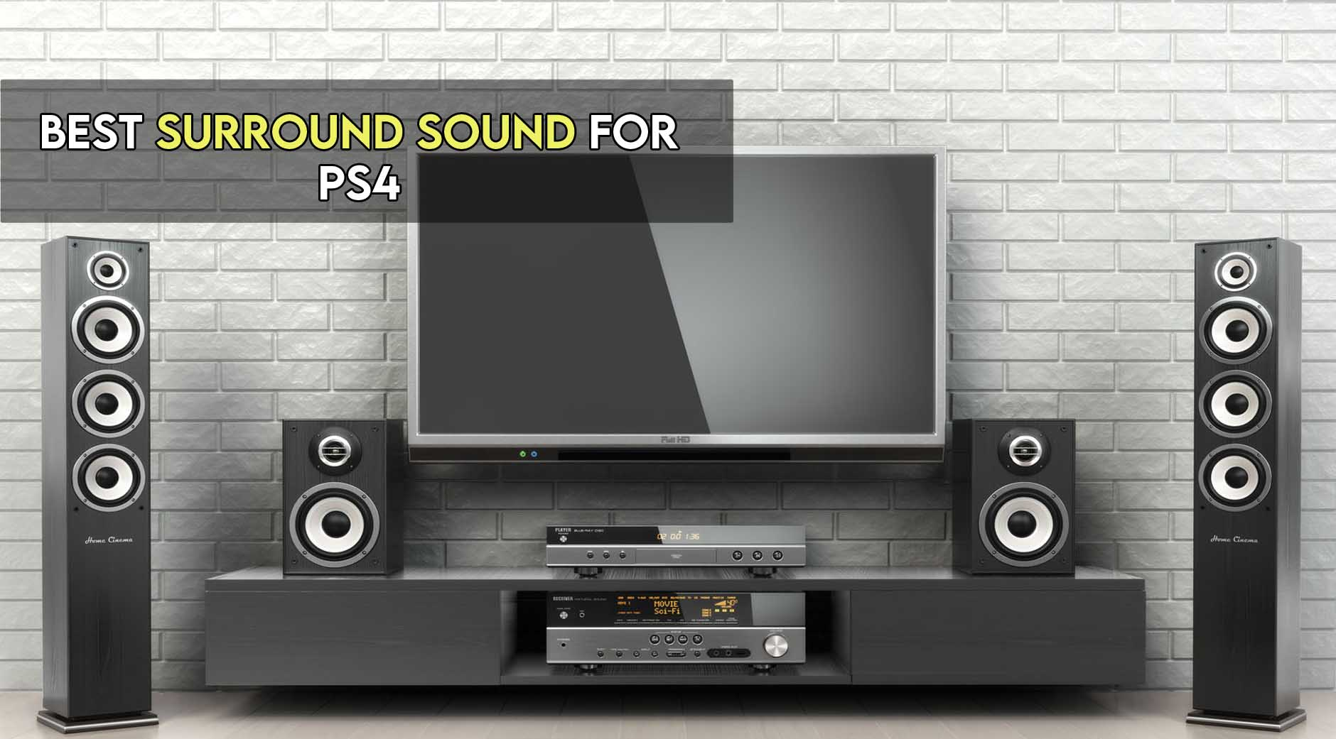 10 Best Surround Sounds for PS4 in 2021
