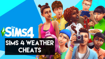 sims 4 weather cheat