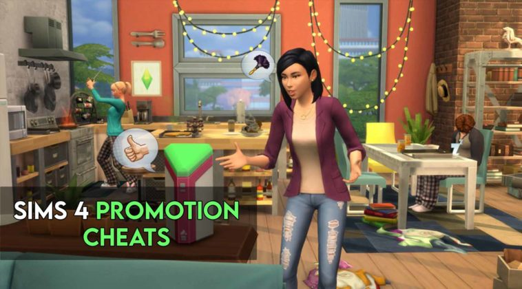 sims 4 promotion cheats