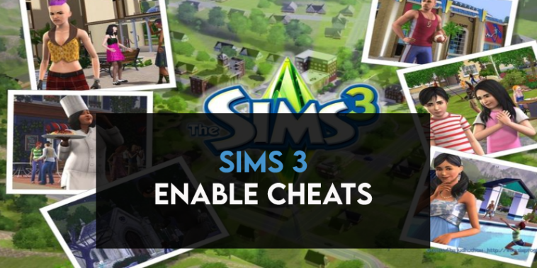 Sims 3 Enable Cheats