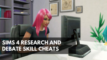 Sims 4 Research and Debate Skill Cheat